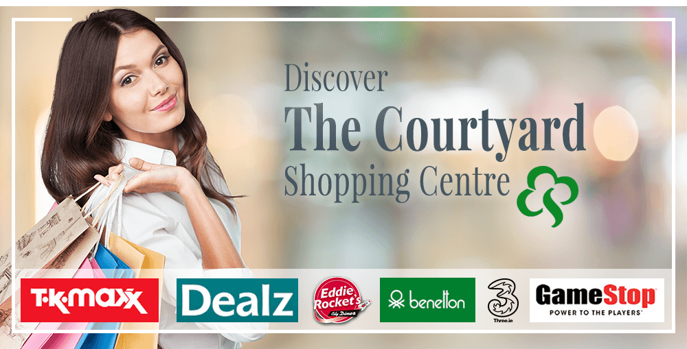 The Courtyard Shopping Centre in Kildare